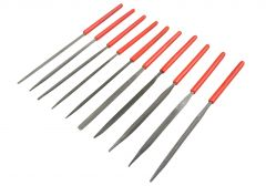 10pce Needle Steel File Set for Craft Percision Work