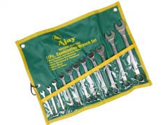 Ajay 11pce Combination Spanner Set 6mm-19mm