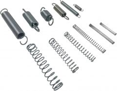 60 Compression & Extension Springs - Assorted Large & Small