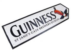 Guinness Toucan Road Sign Logo St James's Gate Brewery Dublin - Cast Iron Plaque